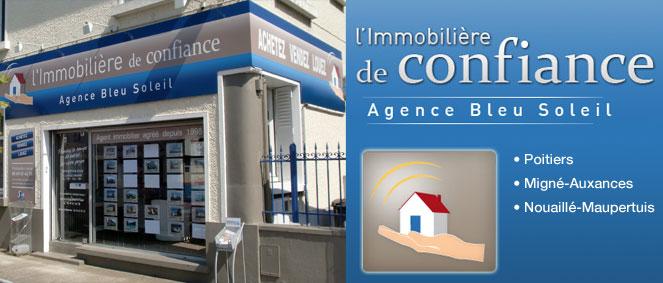Immobiliere de confiance agence bleu soleil agence for Agence immobiliere poitiers