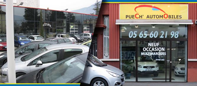 Puech automobiles vente v hicules occasion for Garage puech automobiles millau