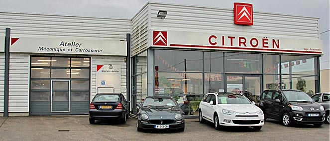 Garage auxonnais agent citroen vente v hicules occasion for Garage nicol auto agen