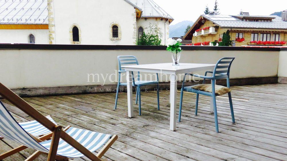Vente Appartement T3 avec grande terrasse Notre Dame de Bellecombe (73590) centre village  à Notre-dame-de-bellecombe