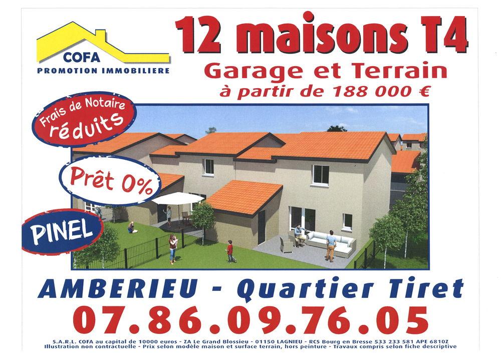 Annonce vente maison proche meximieux 01500 93 m 196 000 9926757657 - Frais de notaire sur construction maison ...