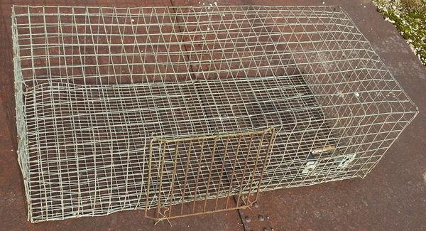 Grande cage en grillage pour petits animaux
