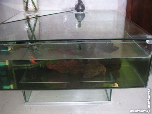aquarium table basse d 39 occasion 63 vendre pas cher. Black Bedroom Furniture Sets. Home Design Ideas
