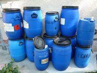 Bidon bleu,stockage blé/maïs/divers 81100 Castres
