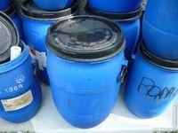 Bidon bleu,stockage blé/maïs/divers