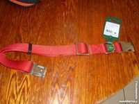 Collier neuf rouge pour  chien