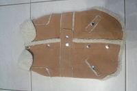 manteau pour chien en peau retournée T40.  10
