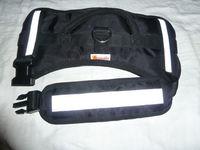 harnais noir pour chiens 40 x 78 cm acheté chez Animalis 77460 Souppes-sur-loing