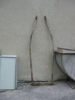 Ancienne limonière bois mulets ou ânes 39210 Le vernois