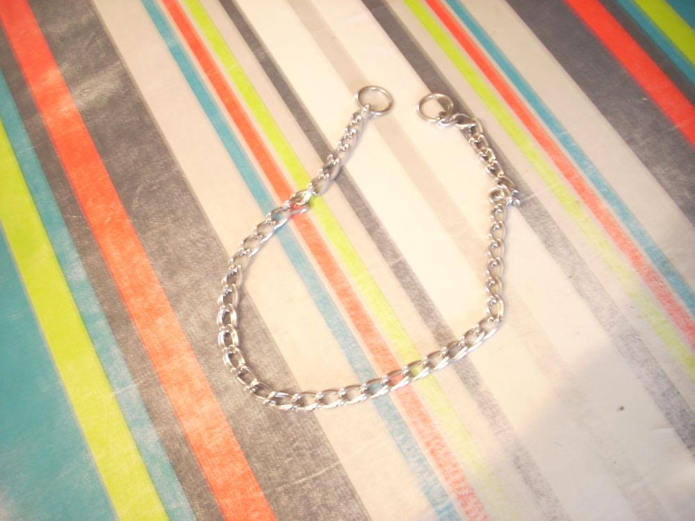 collier de dressage chien 80 cm métal
