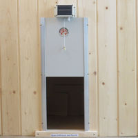 Porte automatique solaire pour poulailler made in Jura 39570 Courlaoux
