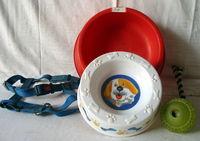Lot de 4 accessoires pour chien Réf: A5 5 93500 Pantin