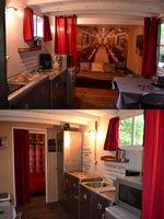 Insolite : ancien wagon SNCF (2/3 p.) proche Lac du Der Champagne-Ardenne, Droyes (52220)