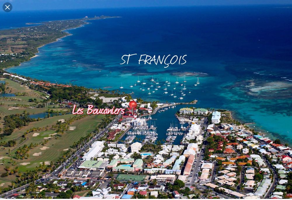 appar T1bis au coeur de la Marina et Golf- St François DOM-TOM, Saint-François (97118)