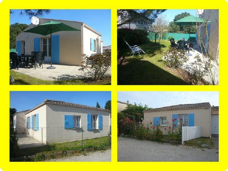 OLERON maison classée 2* PLAIN-PIED calme 3ch/6per Poitou-Charentes, Le Grand-Village-Plage (17370)
