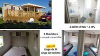 Mobil-home tout confort à 200m de la plage Languedoc-Roussillon, Canet-en-Roussillon (66140)