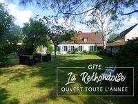 Gîte rural 12 pers près de Compiègne et Pierrefonds Picardie, Rethondes (60153)