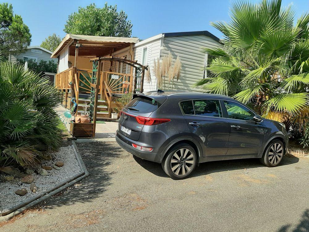 VALRAS-PLAGE-Mobil-Home 40m2 6/7 pers-Dispo Juin-Juil-Sept. Languedoc-Roussillon, Valras-Plage (34350)