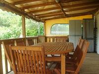 Mobile home tout confort 35 M2 avec piscine privée Languedoc-Roussillon, Thoiras (30140)