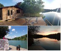 Chalet+ponton sur étang pour amoureux de la nature Île-de-France, Égly (91520)