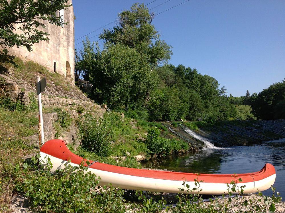 MOULIN BORD DE RIVIERE 10/12 P.- PARC, PISCINE, PLAGE PRIVEE Languedoc-Roussillon, Sommières (30250)