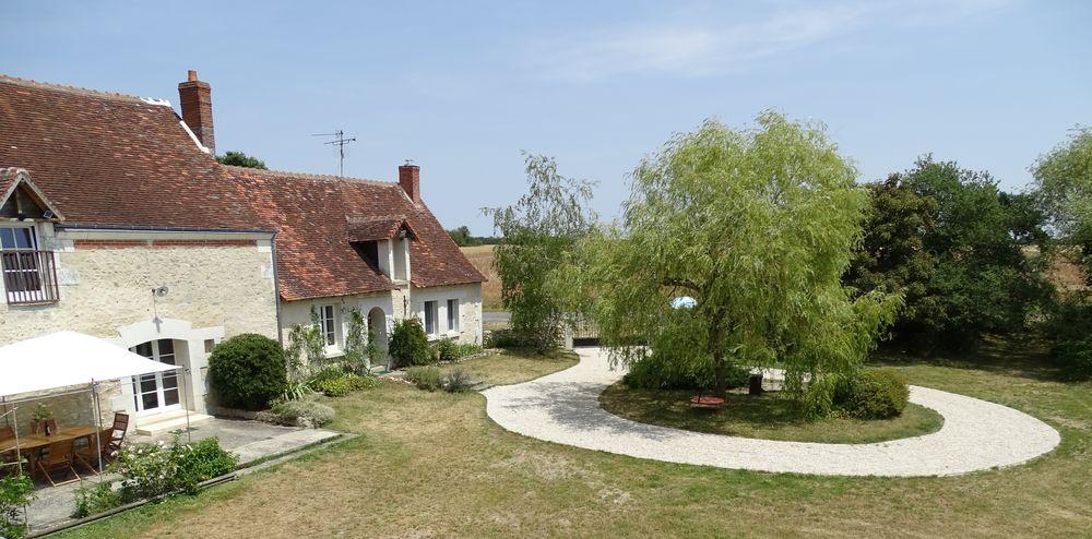 La maison à la campagne dans la vallée de la Loire Centre, Saint-Hippolyte (37600)