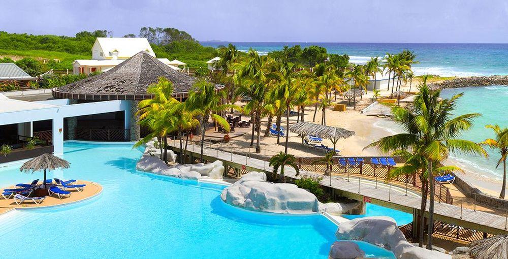 Magnifique F3 à 100m de la plage, avec piscine, en résidence DOM-TOM, Saint-François (97118)