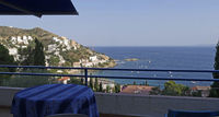 Grand F2 en villa  +terrasse 18 m2 avec belle vue mer Espagne, Rosas