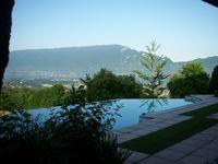 Location Chambre Studio 32 m2 sur terrasse vue lac du Bourget  à Trévignin