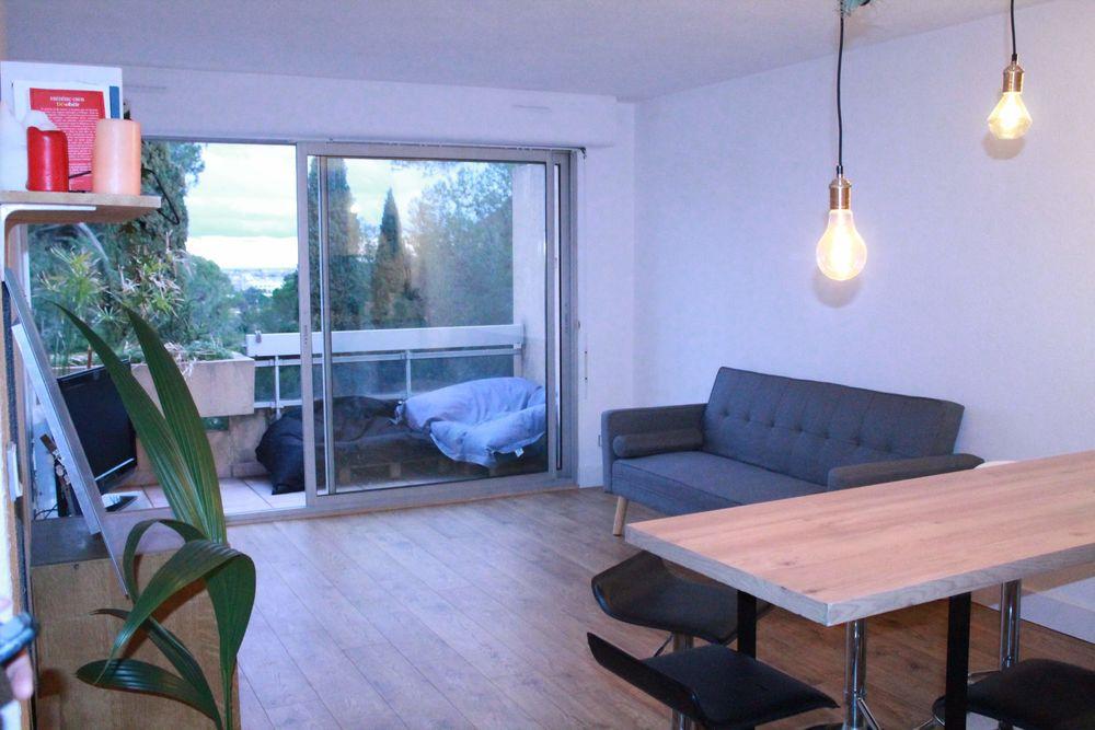 Location Appartement T2 de 44m2 meublé rénové quartier plan des 4 seigneurs  à Montpellier