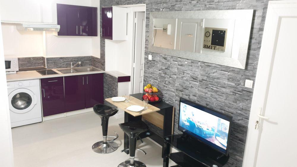 Location Appartement F2 meublé neuf 29m2 + parking  à Vaujours