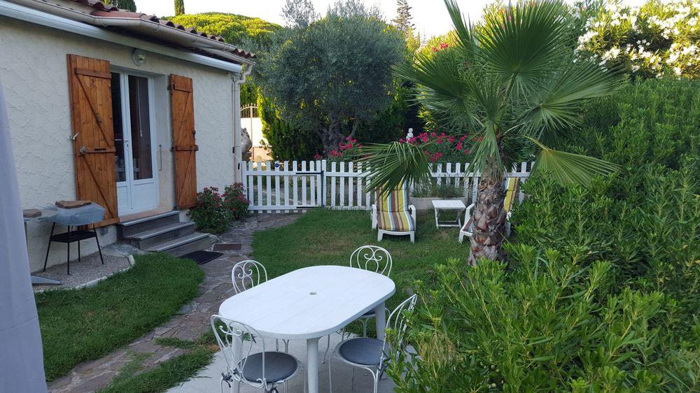 Location Appartement Studio Meublé  rez de jardin à Saint Raphaël 550€  à Saint-raphaël