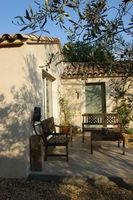 A louer P2 meublé calme ensoleillé 550 /  mois 550 Castillon-du-Gard (30210)