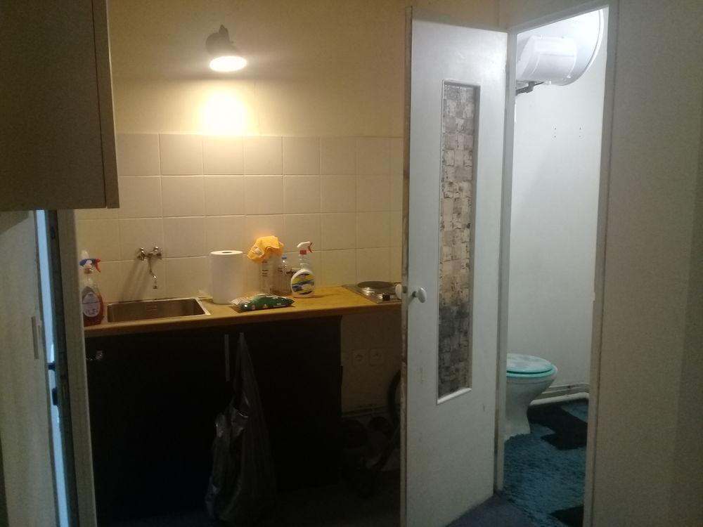 Location Appartement Studio 19m2 proche métro Porte de Saint-Cloud Paris 16