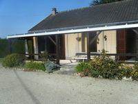 villa à 800m de la mer avec jardin clos 350 St Martin De Brehal (50290)