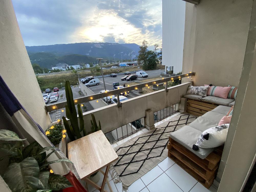 Location Terrain Loft 125m2 Balcons Parking Homecinéma SDB Privatives Grenoble