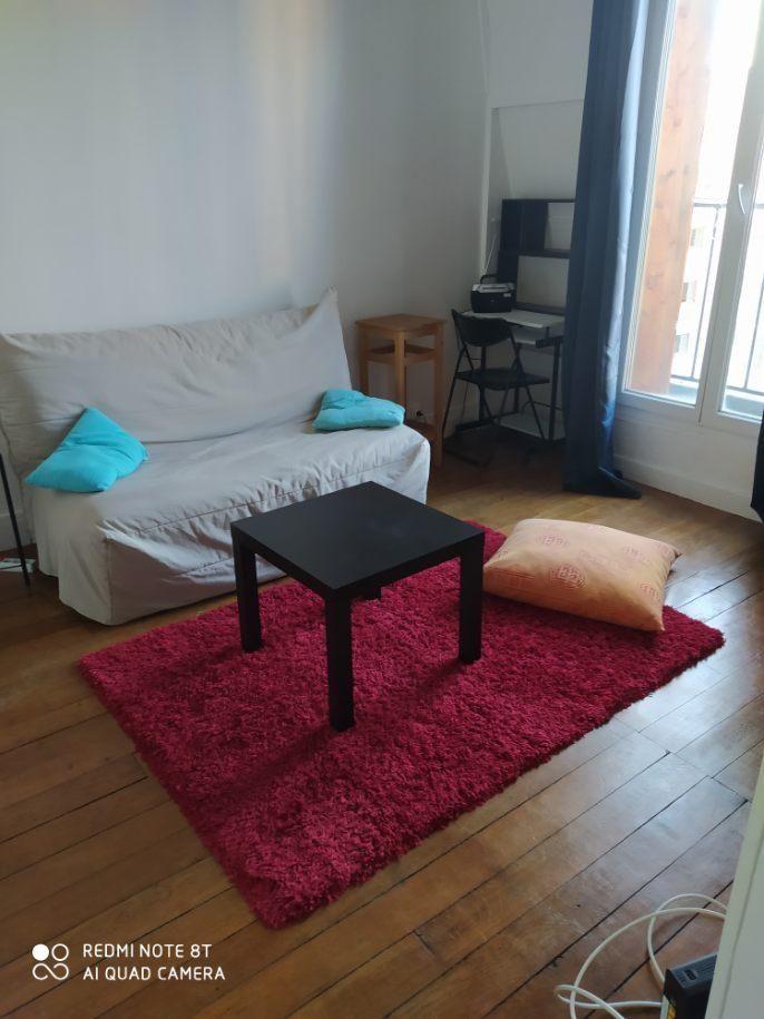 Location Appartement studio meublé 23m2 Paris 18ieme metro château rouge Paris 18