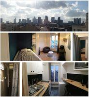 Studio meublé 6ieme étage 19m² 740 La Garenne-Colombes (92250)