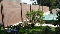 Aménagement ext. ,clôture,muret,support coulissant,grillage 0