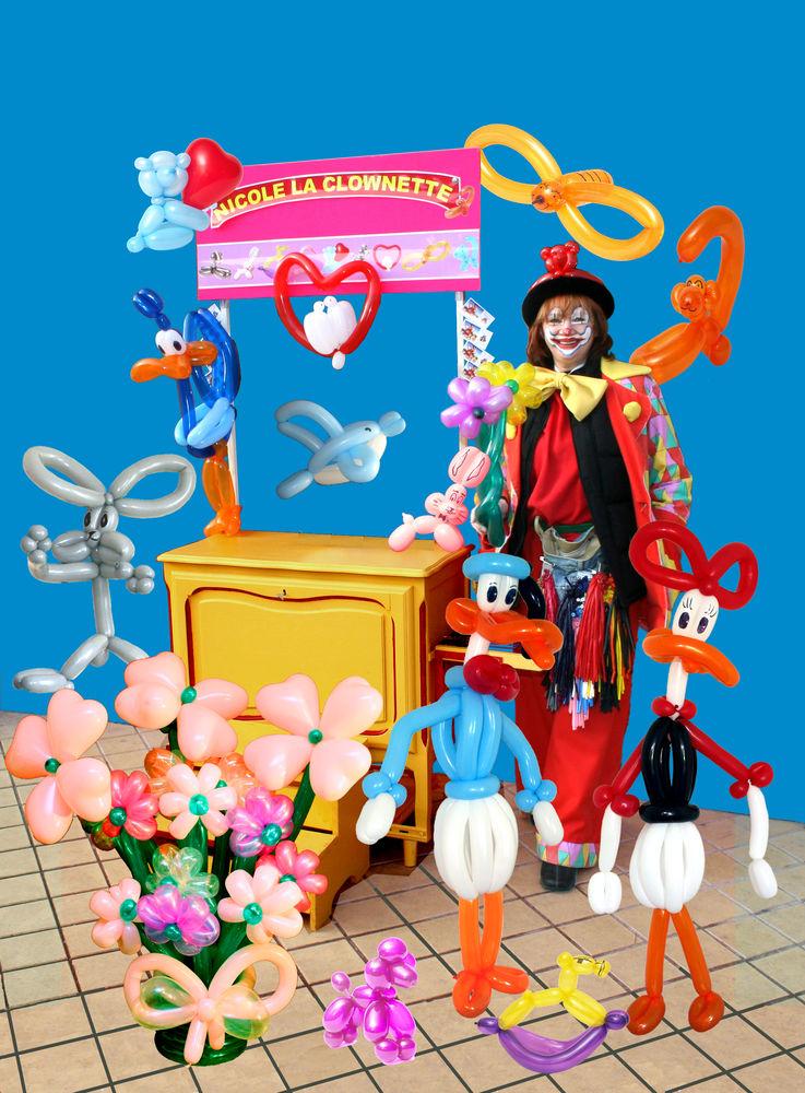 Clownette Sculpture Ballons Modelés