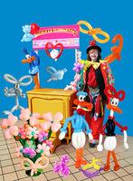 Clownette Sculpture Ballons Modelés 0