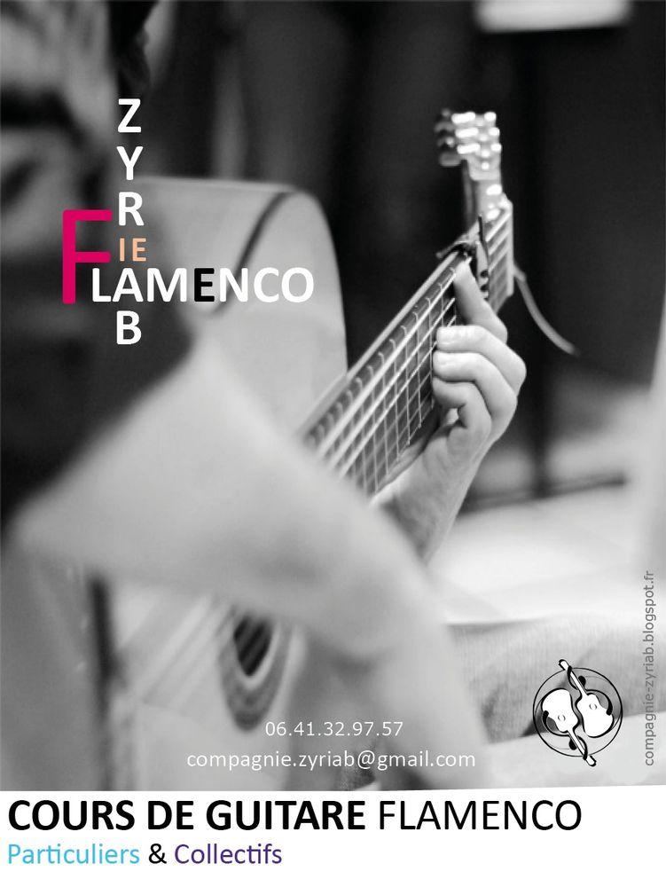 Cours de Guitare flamenco Particuliers & Collectifs à Lyon