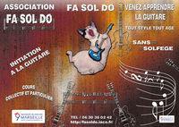 Association FA SOL DO Marseille donne cours de guitare 0