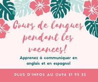 Cours de conversation en Anglais et en Espagnol. 0