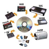 Je numérise vos anciennes cassettes en DVD