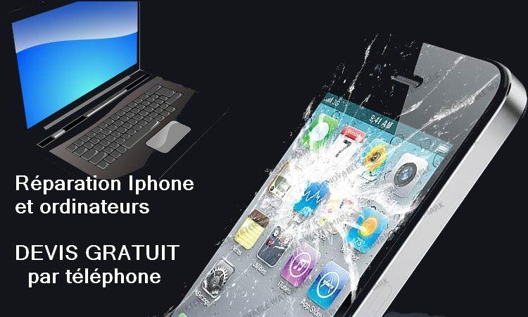Réparation Iphone tous types