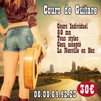Cours de Guitare 0 60510 La neuville-en-hez