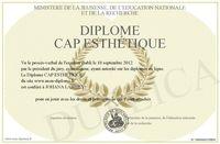 PROFESSEUR DONNE COURS PARTICULIER CAP ESTHETIQUE 0