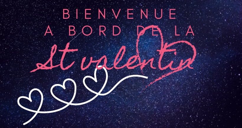 Prenez le large en amoureux pour la Saint Valentin.