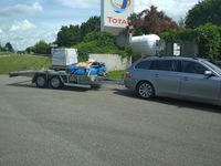 Covoiturage de remorque porte voiture